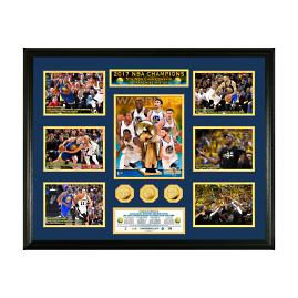 Golden State 2017 NBA Champions Photo and Coin