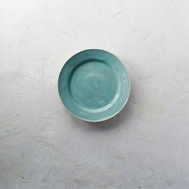 Costa Nova Astoria Salad Plates in Mint Finish,