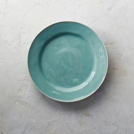 Costa Nova Astoria Dinner Plates in Mint Finish,
