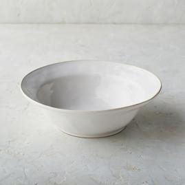 Costa Nova Astoria Serving Bowl in White Finish