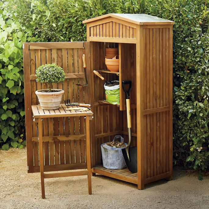 Brilliant Teak Garden Storage Gmtry Best Dining Table And Chair Ideas Images Gmtryco