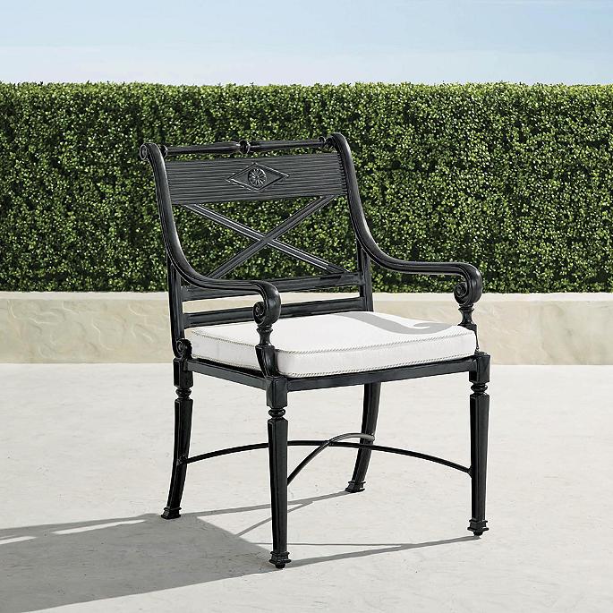 Astonishing Carlisle Bar Dining Chair Cushion Frontgate Uwap Interior Chair Design Uwaporg