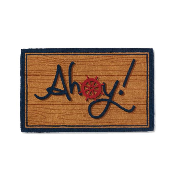 Ahoy Coco Entry Mat Frontgate