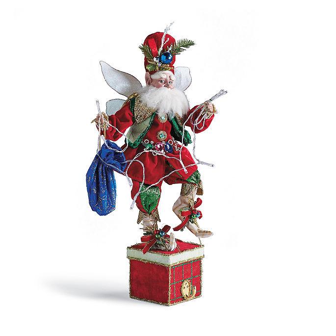 Mark Roberts Christmas Lights Fairy Stocking Holder