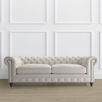 Barrow Chesterfield Sofa Frontgate