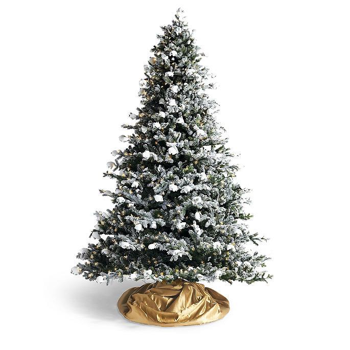 Snowdrift Artificial Christmas Tree - Snowdrift Artificial Christmas Tree Frontgate