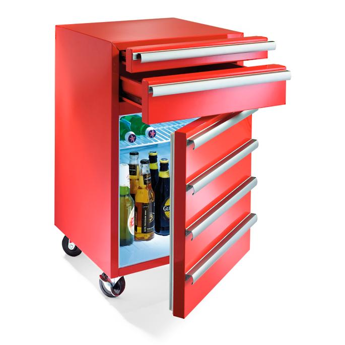 2-drawer toolbox fridge | frontgate