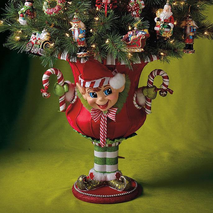 Holiday Elf Urn Frontgate