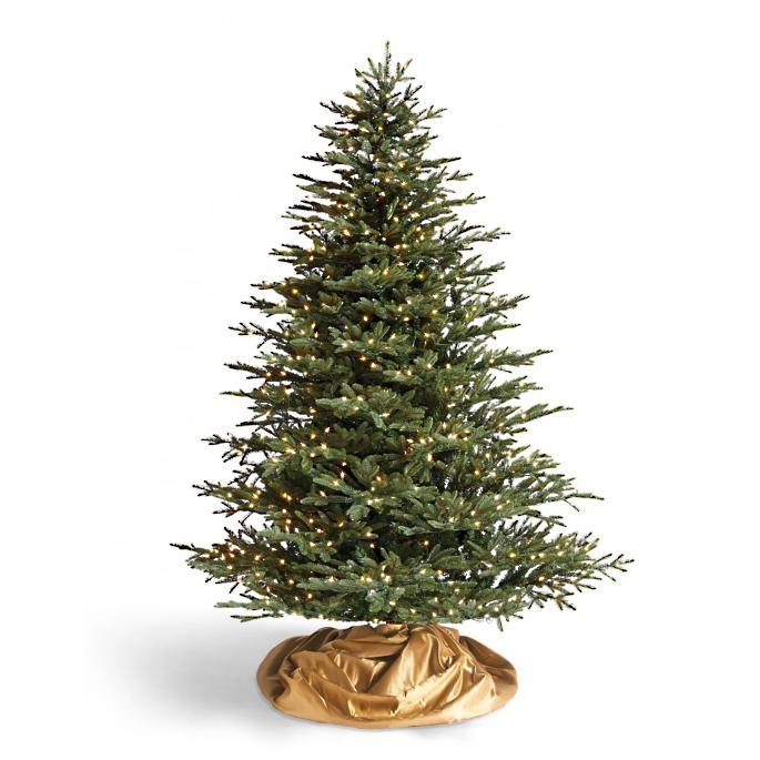 Half Christmas Tree.Fraser Artificial Half Christmas Tree