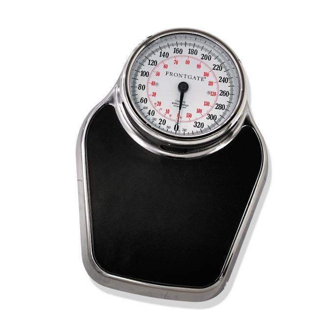 Large Dial Professional Analog Scale Frontgate