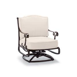 Orleans Swivel Rocking Lounge Chair with Cushions in