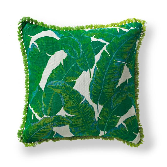 Amazon Emerald Outdoor Pillow Frontgate