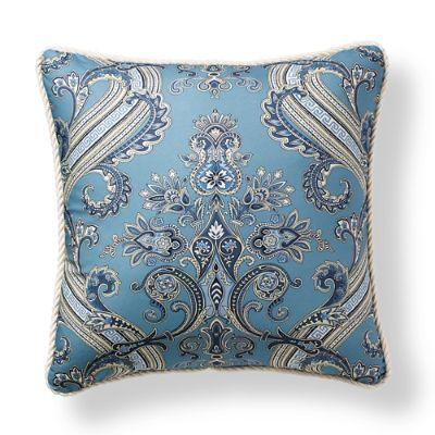 Scalamandre Hudson Indigo Outdoor Pillow Frontgate