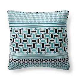 Andros Stripe Aruba Modern Boxed Pillow