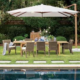 Poolside Cantilever Umbrella Frontgate