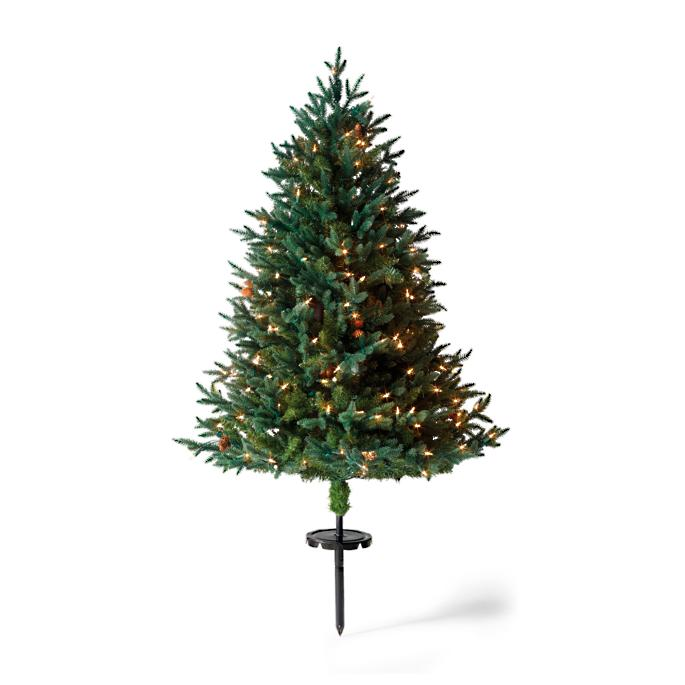 Stake Christmas Trees: Winter Pine Cordless Stake Tree