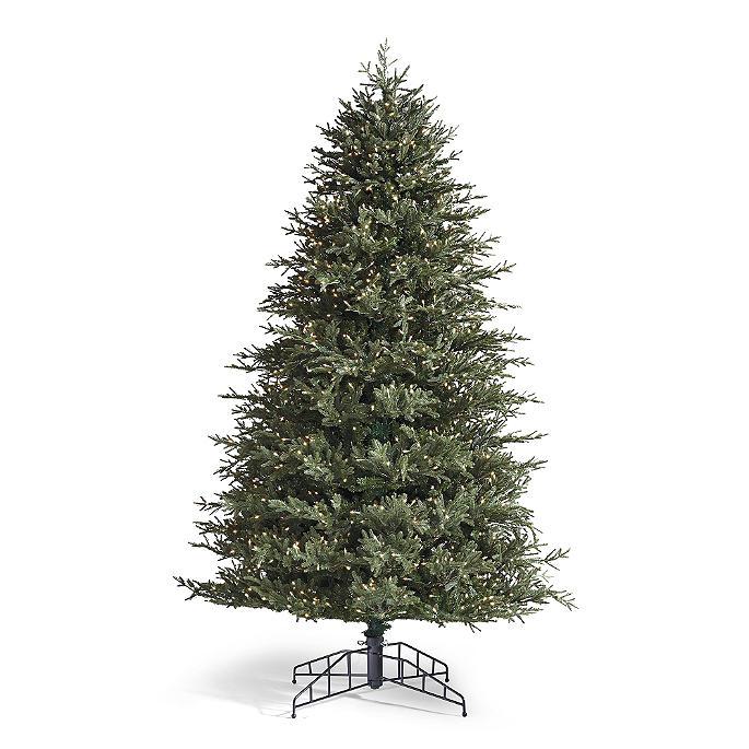 Fraser Fir Christmas Trees: Fraser Fir Artificial Pre-lit Christmas Tree