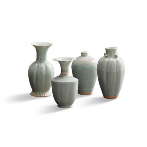 Celadon Vases Set Of Four Frontgate