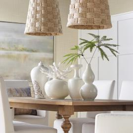Blanc de Chine Vases, Set of Four