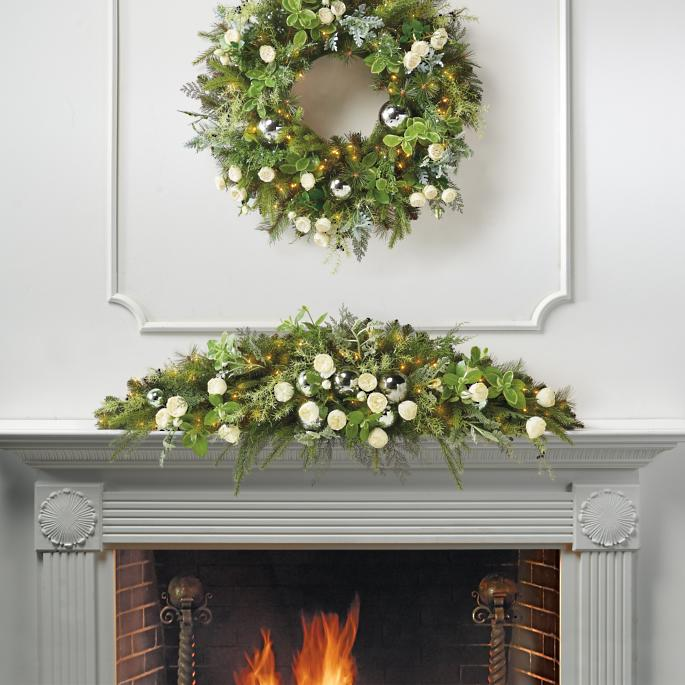 Westbury Gardens Events Christmas: Westbury Pre-Decorated Mantel Swag