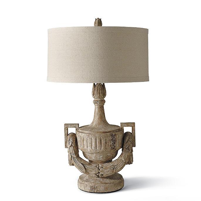 Urn Amp Swag Lamp Frontgate