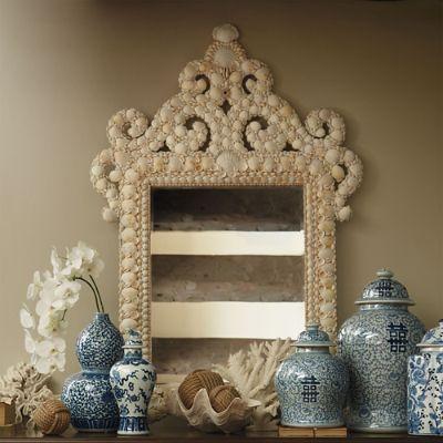 Marigot Shell Wall Mirror