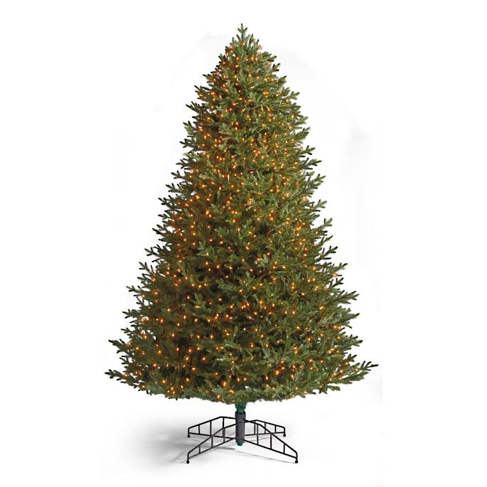 - Signature Fraser Fir Artificial Pre-lit Christmas Tree Frontgate
