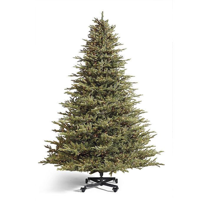 Grand Christmas Tree: Grand Fraser Fir Inversion Artificial Pre-lit Christmas