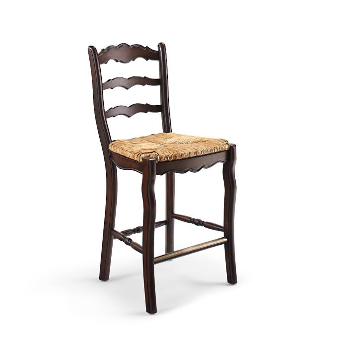 Groovy Clarmount Ladder Back Counter Height Bar Stool 26H Seat Alphanode Cool Chair Designs And Ideas Alphanodeonline
