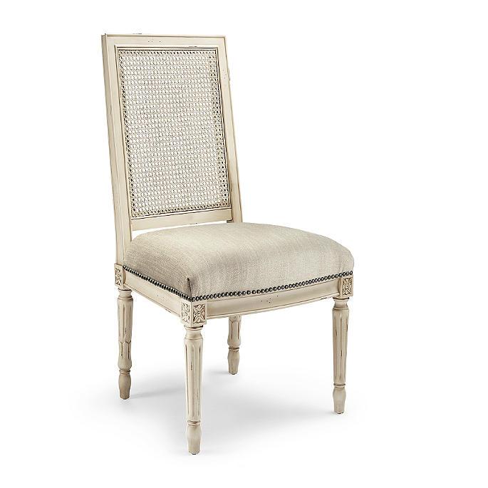 Superb Ludlow Square Back Side Chair Short Links Chair Design For Home Short Linksinfo