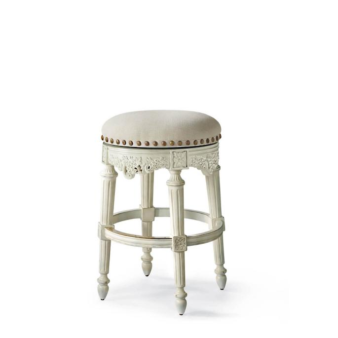 Provencal Grapes Swivel Backless Bar Stool 31 Quot Seat