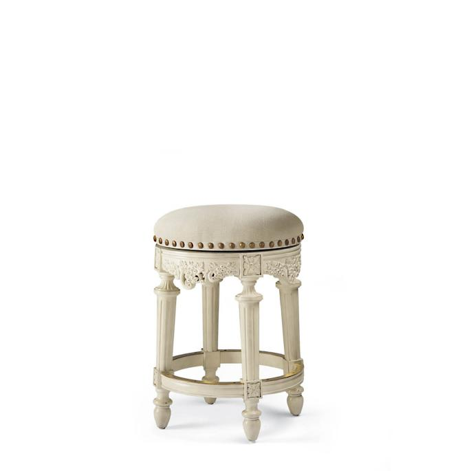 Provencal Grapes Swivel Backless Counter Stool 26 Quot Seat