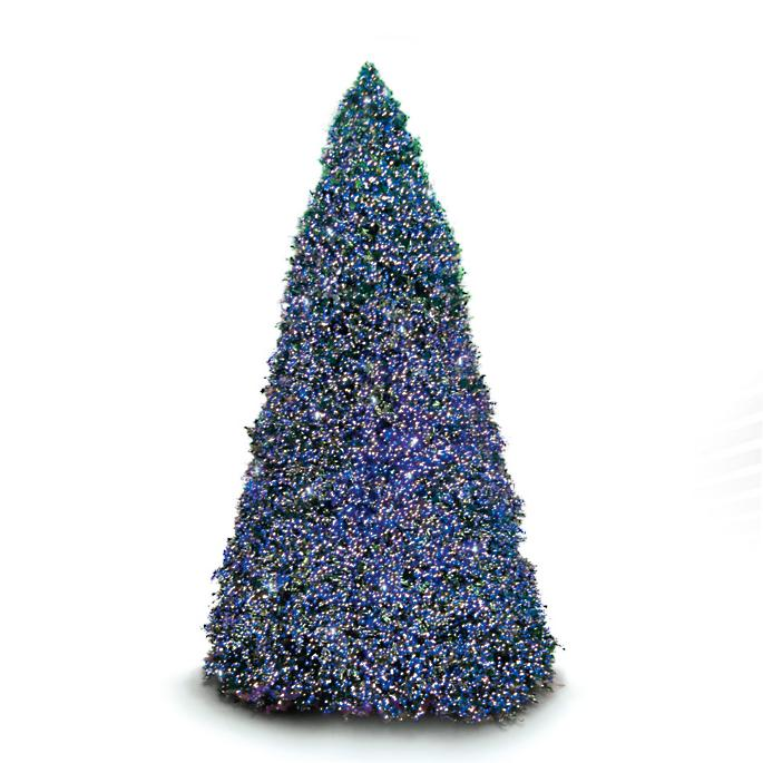 20 Ft Christmas Tree.Overlit 20 Ft Tower Artificial Pre Lit Christmas Tree