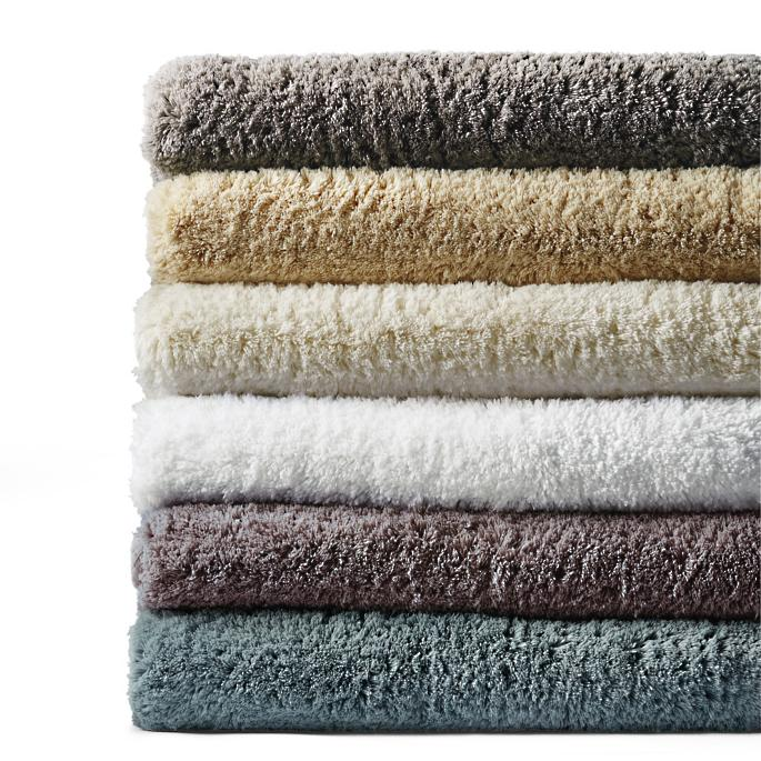 Solid Removable Memory Foam Bath Rug Frontgate