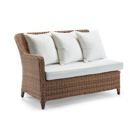 Beaumont Left-facing Loveseat with Cushions