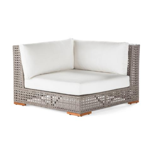 Palisades Corner Chair With Cushions