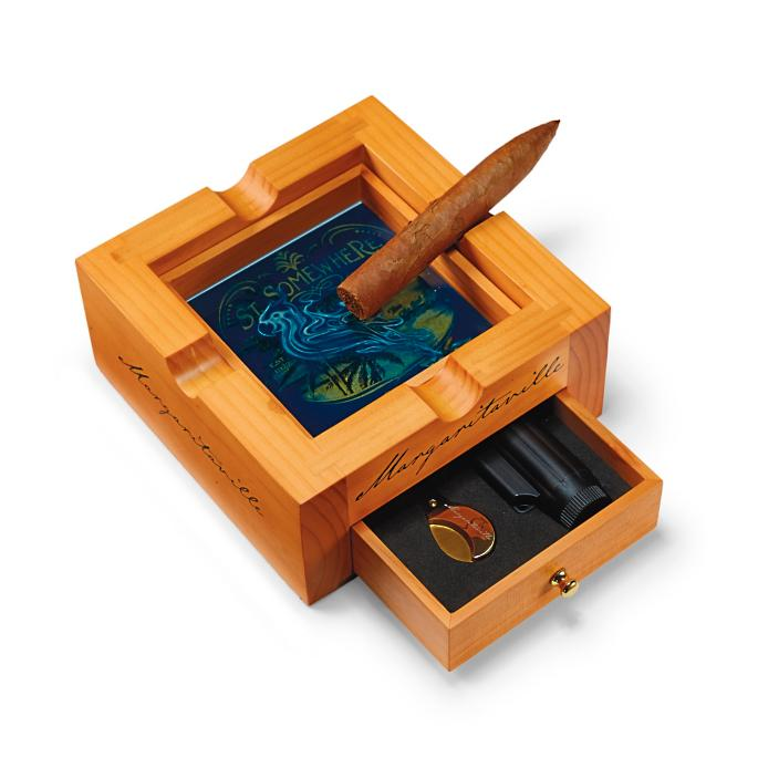 Margaritaville Cigar Ashtray Gift Set Frontgate