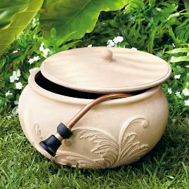 Acanthus Leaf Hose Pot