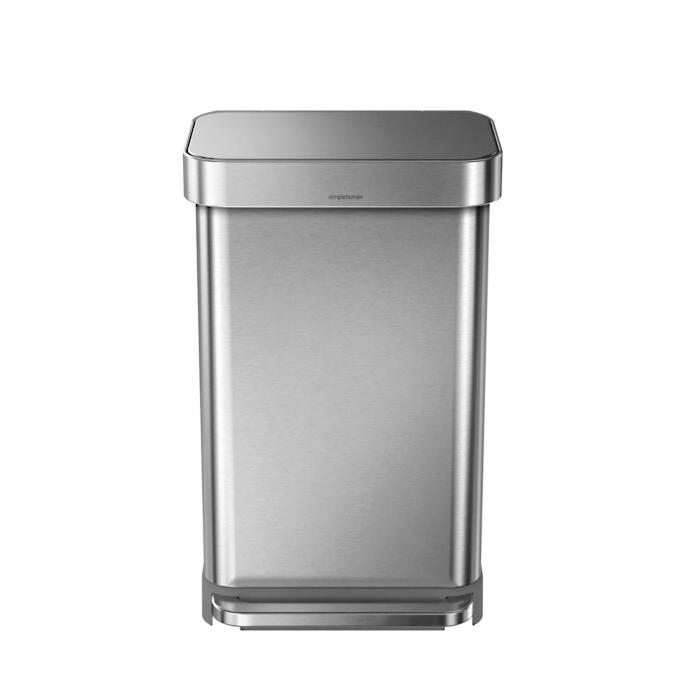 Simplehuman 45 Liter Rectangular Step Trash Can Frontgate