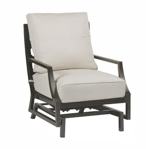 Beau Lattice Spring Lounge Chair With Cushions By Summer Classics