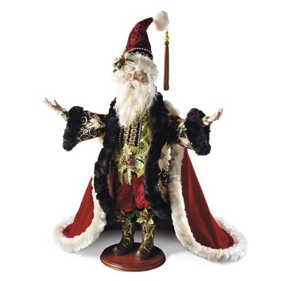 Mark Roberts Exquisite Santa Figure Frontgate