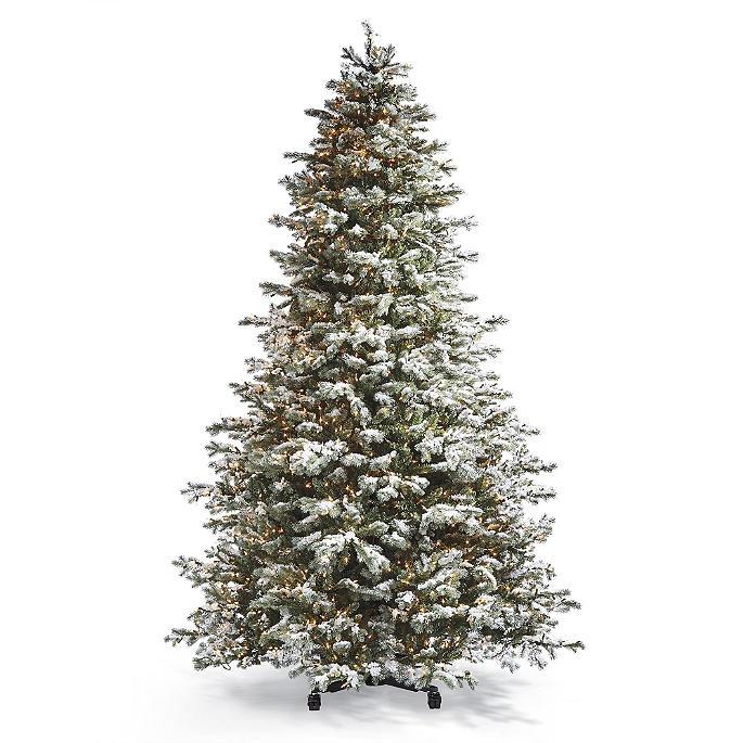 Grand Snow Blue Spruce Inversion Artificial Pre-lit ...