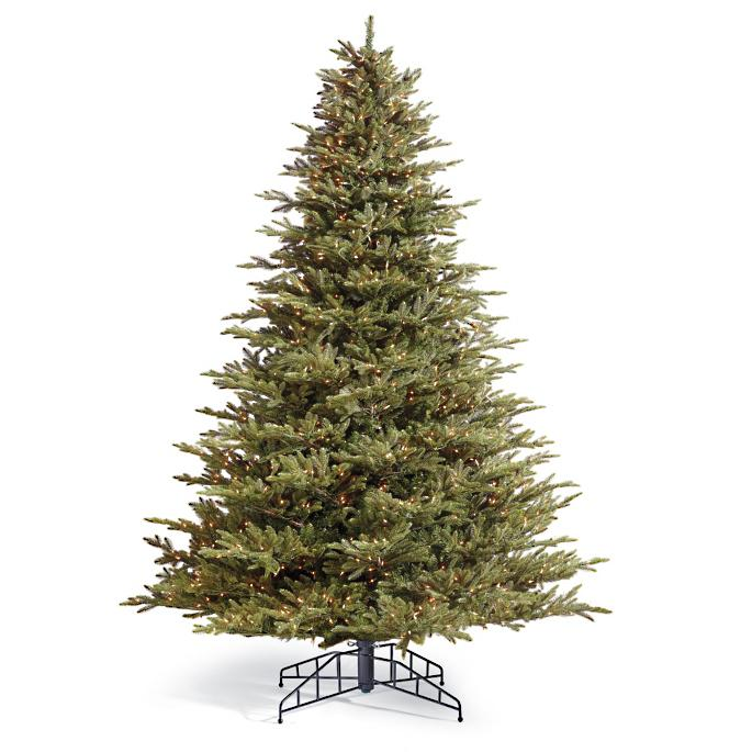 Fraser Artificial Pre-lit Christmas Tree | Frontgate