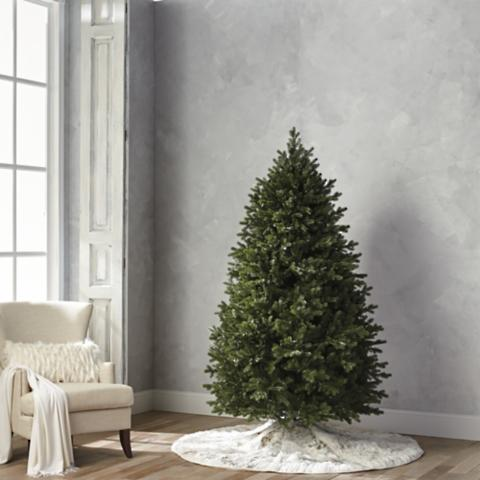 color changing led fraser fir artificial pre lit christmas tree - Led Pre Lit Christmas Trees