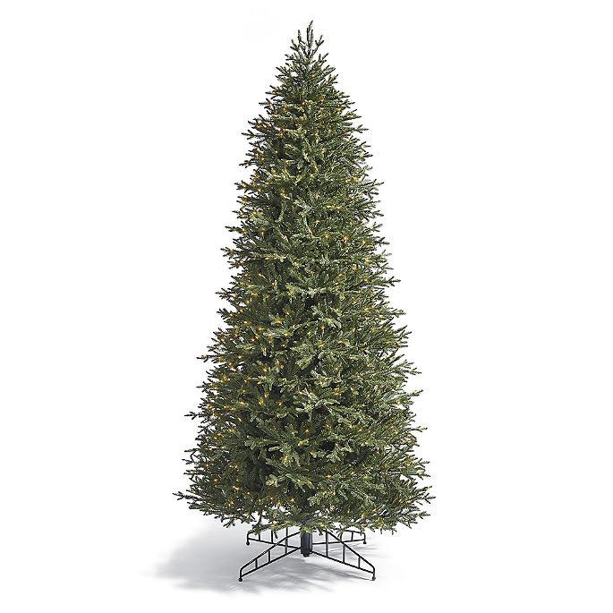 - Fraser Slim Artificial Pre-lit Christmas Tree Frontgate