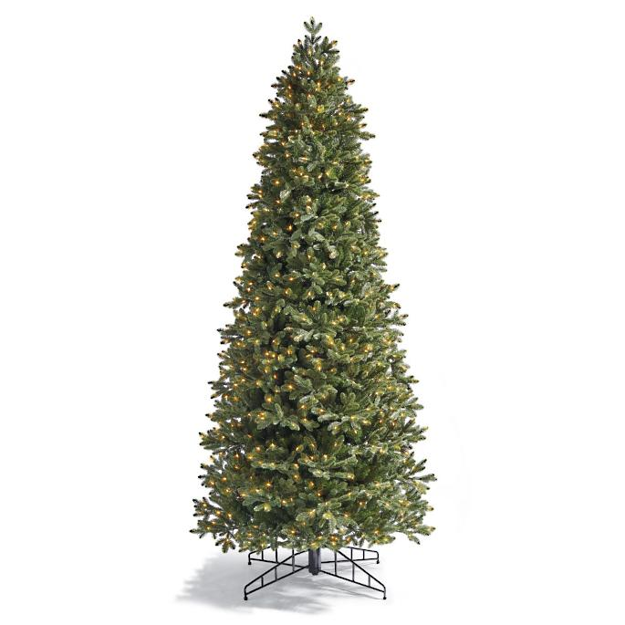 sale retailer aa916 f9ff6 Noble Slim Artificial Pre-lit Christmas Tree