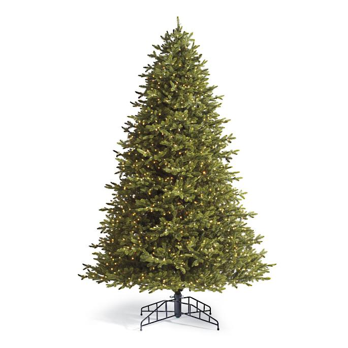 - Noble Artificial Pre-lit Christmas Tree Frontgate