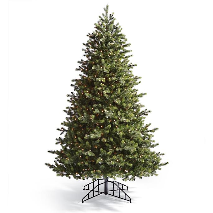Balsam Artificial Pre-lit Christmas Tree | Frontgate