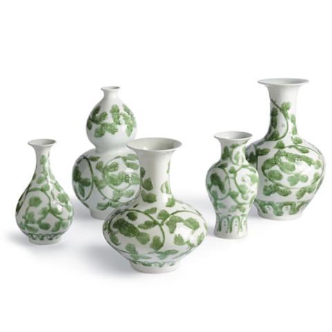 Jade Vine Vases Set Of Five Frontgate
