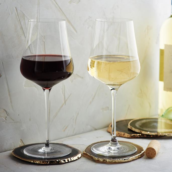 All In Glas.All In One Gabriel Glas Wine Glasses Gold Edition Set Of